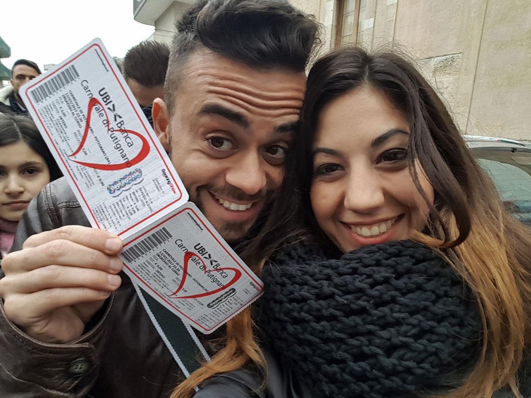 Ticket Carnevale di Putignano