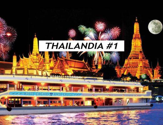 Crociera sul fiume Chao Phraya