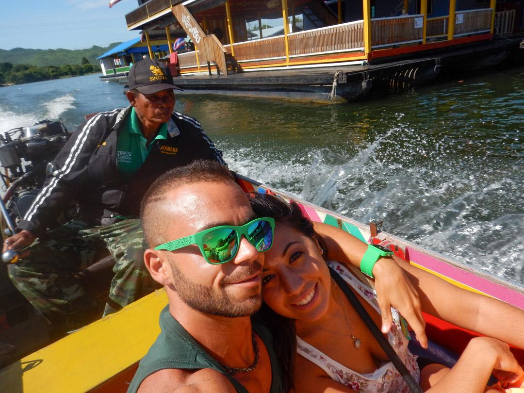 Verso il fiume Kwai