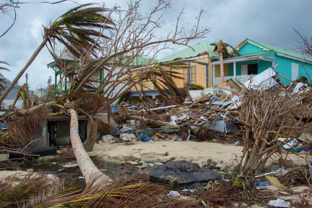 Danni provocati dall'uragano Maria