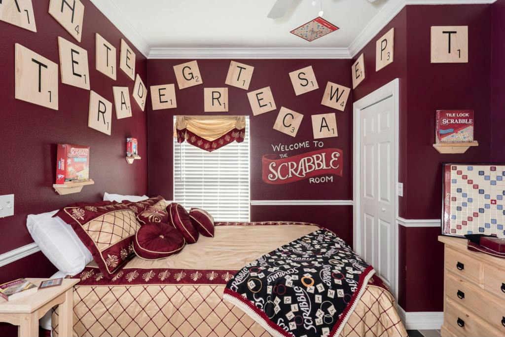 Scrabble's room