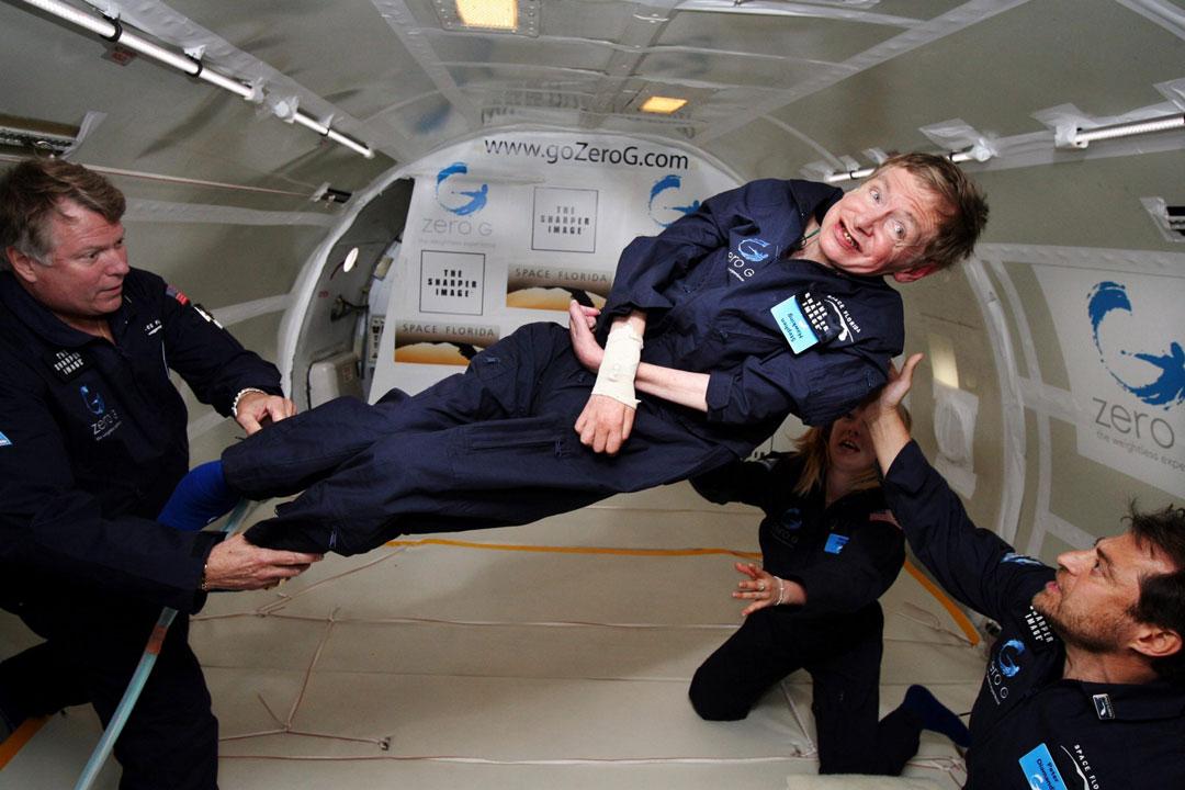 Hawking e la gravità
