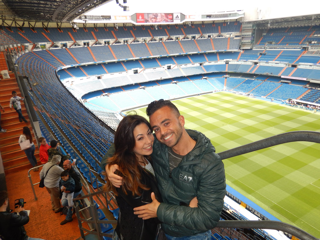 Stadio Bernabeu di Madrid.