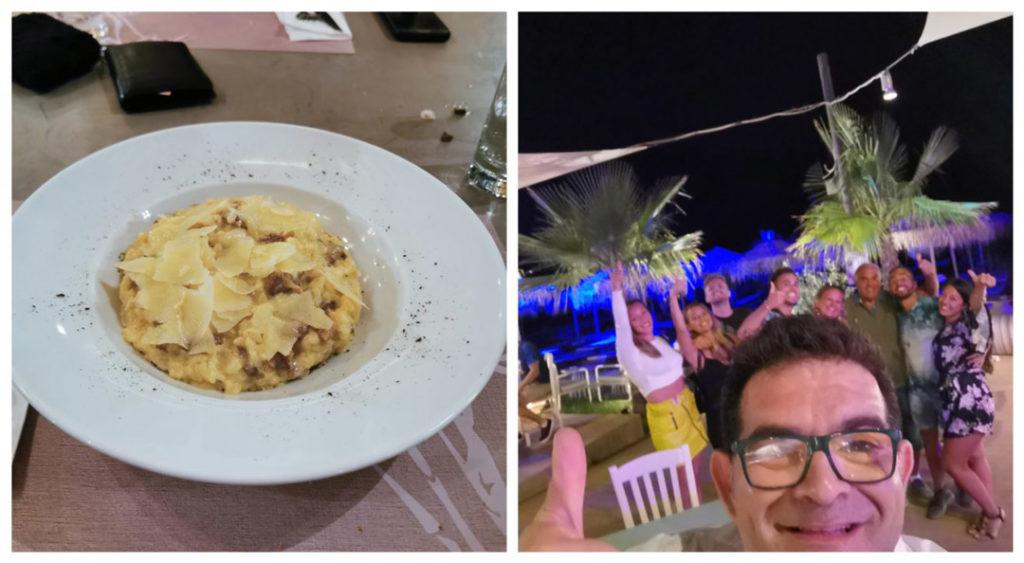 Almira Beach bar and restaurant